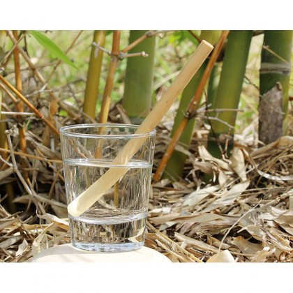 EcoQuote Handmade Bamboo Straws Eco Friendly & Reusable ~ An End to Plastic