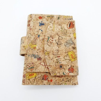 Cork Mini Wallet Handmade Eco-Friendly & Sustainable Material, Great For Vegan