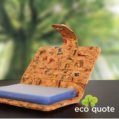 Cork Multi Cards Holder Handmade Eco-Friendly & Sustainable Material, Great For Vegan