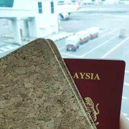 Cork Passport Holder Deluxe Hadmade Eco-Friendly Material, Great for Vegan