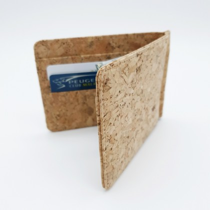 Cork Money Clip Handmade Eco-Friendly & Sustainable Material, Great For Vegan