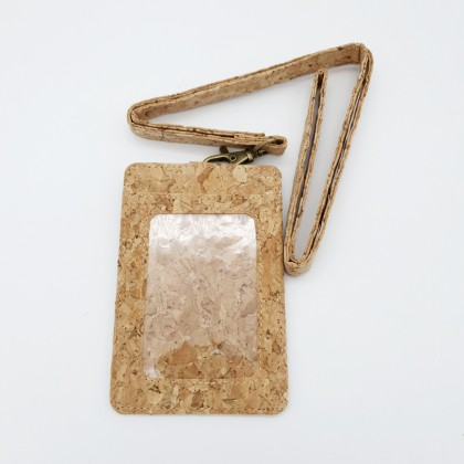 Cork Lanyard with Badge Holder Handmade Eco-Friendly & Sustainable Material