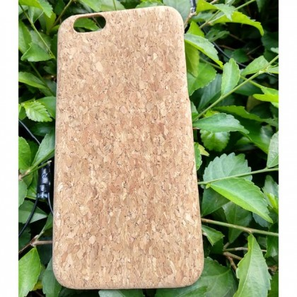 EcoQuote iPhone 6/6s Handmade Phone Case PC Hard Cork Finishing for Vegan