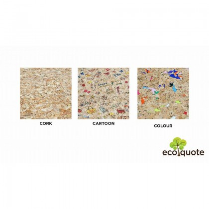 EcoQuote Envelope Sling Bag Handmade Cork Eco Friendly Material great for Vegan