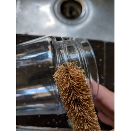EcoQuote Bottle Brush Handmade Eco-Friendly Coconut Or Pineapple Fibres