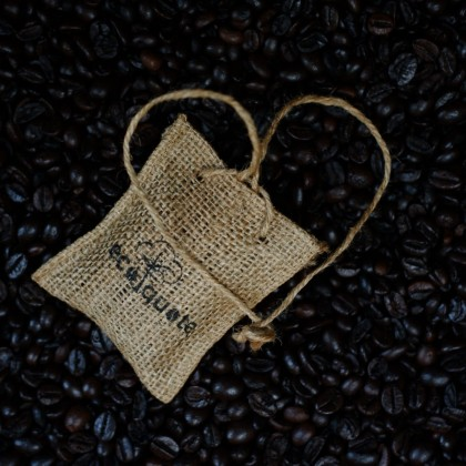 Coffee Beans Car Perfume Natural Roasted  , Nice Aroma Long Lasting, Eco-Friendly Sustainable & Great For Vegan