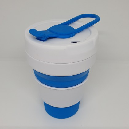 Bayzon Collapsible Silicone Pocket Coffee Cup, Reusable, Eco-Friendly & Sustainable