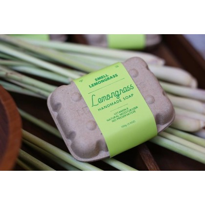 Loofah and Lemongrass Handmade Soap Natural, Eco-Friendly & Sustainable