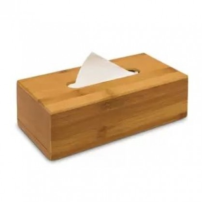 Bamboo Tissue or Napkin Box For Home or Office, Handmade, Eco-Friendly & Sustainable