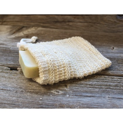 ecostore Lemongrass Body Soap Set Sisal Bag Pouch Handmade, Eco-Friendly & Sustainable
