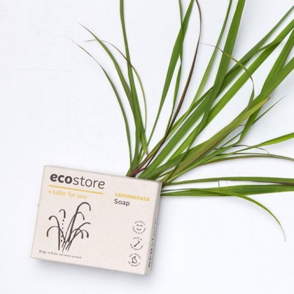 ecostore Series 4 Soaps Set Sisal Bag Pouch Handmade, Eco-Friendly & Sustainable