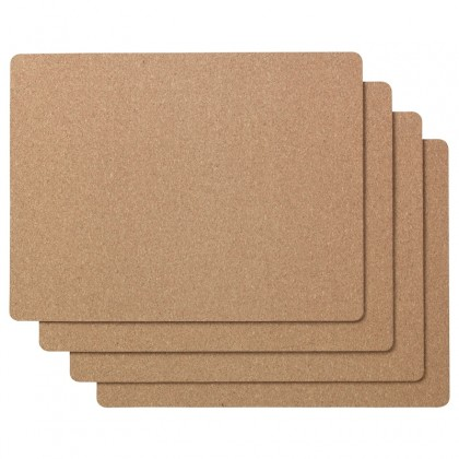 IKEA AVSKILD Cork Place Mat 42 x 32cm Mouse Pad Desk Pad Eco-Friendly