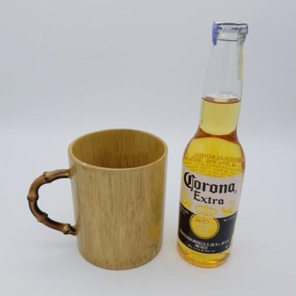 Bamboo Mug Cup Handmade Craft 500ml Eco-Friendly & Sustainable