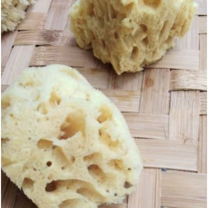 Natural Big Sea Sponge Shower Bath Deep Cleaning Smoothing Skin Sustainable, Eco & Vegan-friendly