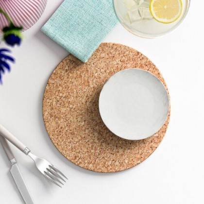 Cork Placemat, Place Mat, Table Protector, Pad, Cork Trivet, Sustainable Harvested Cork