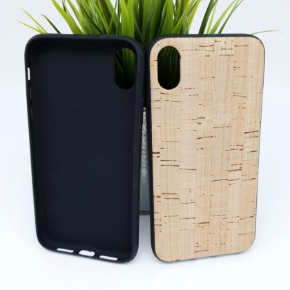 iPhone XR Cork Phone Case Flexible TPU Special Pattern Eco-Friendly