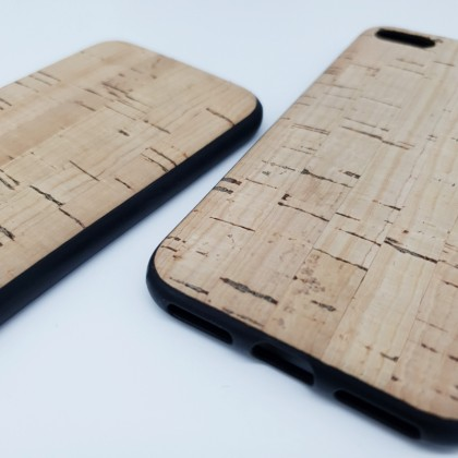 iPhone 11 Cork Phone Case Flexible TPU Special Pattern Eco-Friendly