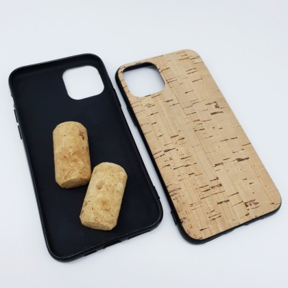iPhone 11 Pro Cork Phone Case Flexible TPU Special Pattern Eco-Friendly