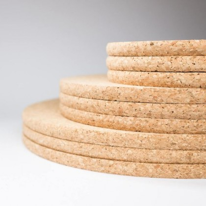 Cork Placemat Thick 1cm , Place Mat, Table Protector, Pad, Cork Trivet, Sustainable Harvested Cork