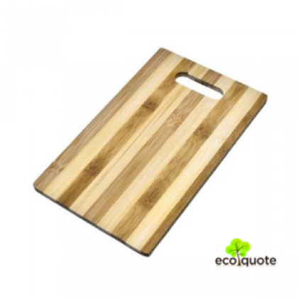 Natural Bamboo Cutting Chopping Board 26cm x 16cm, Thickness 1cm