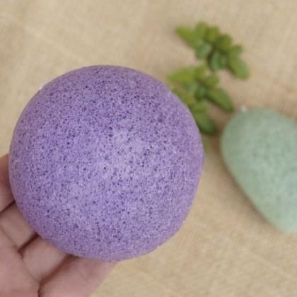 Konjac Face Puff Konnyaku Sponge Cleanse Washing Exfoliator Cleansing Makeup Natural