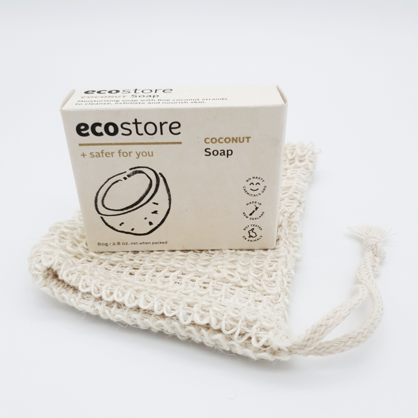 ecostore Full Series Set 4 Soaps Sisal Bag Pouch Toothpaste Handmade Bamboo Toothbrush